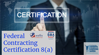 Federal Contracting Certification: 8(a)
