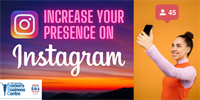 Increase your presence and followers on Instagram