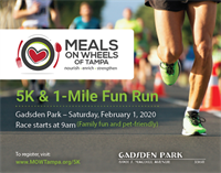 Meals On Wheels 5K & 1-Mile Fun Run