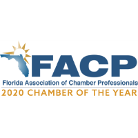 FLORIDA ASSOCIATION OF CHAMBER PROFESSIONALS RECOGNIZES CHAMBER OF THE YEAR