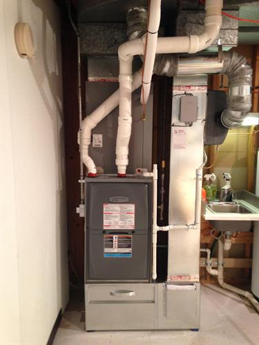 Armstrong Furnace Install