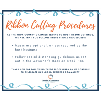 Ribbon Cutting Procedures