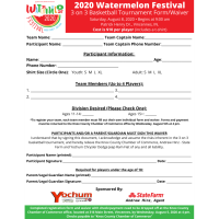 Watermelon Festival 3 on 3 Form