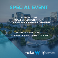 Introducing Walker Corporation to the Maroochydore Chamber