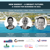 'New Energy – A Bright Future: A Vision for Business in 2021'
