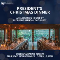 President's Christmas dinner