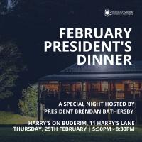 February President's Dinner