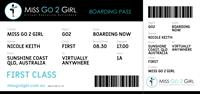 Electronic Boarding Pass - Rates Card