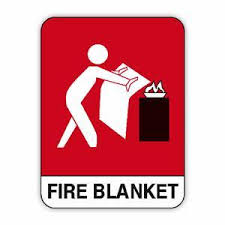 Fire Blanket signs complying with AS1319