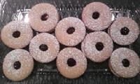 Linzer Cookies - Raspberry or Blackberry
