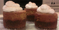 Mini Pumpkin Cheesecakes (can be any flavor of cheesecake)