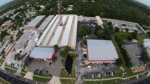 Overhead view of our facility