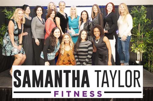 Half of the Samantha Taylor Fitness Team