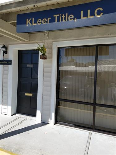 Outside Picture of KLeer Title LLC.