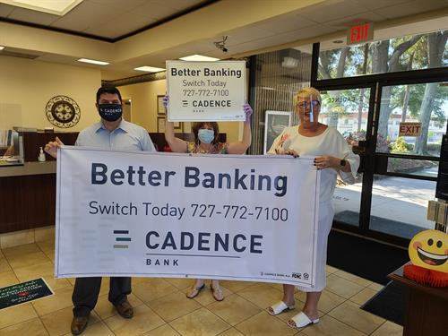 Better Banking at Cadence 727-772-7100