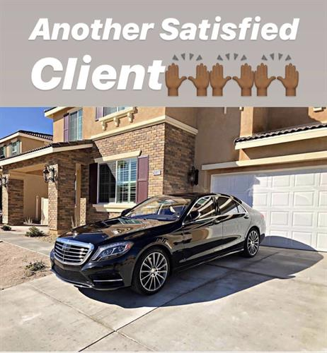 Another satisfied client