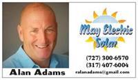 May Electric Solar - Alan Adams - Tarpon Springs
