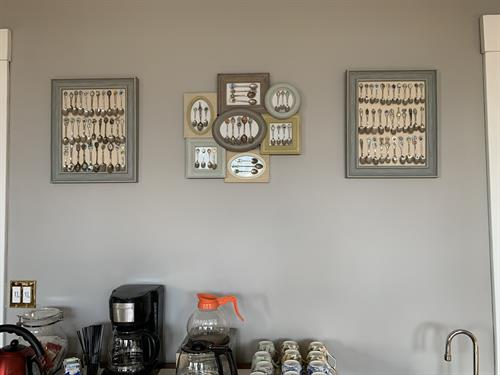 Spoon Collection in Dining Room