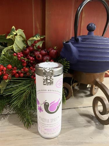 Organic teas made in the Northwest by Flying Bird Botanicals.