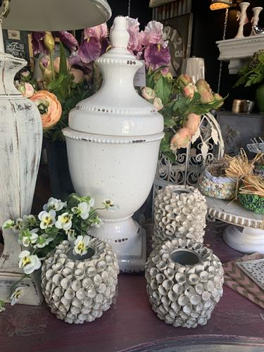 Great selection of vases and porcelain.