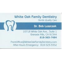 Dr. Bob Luszczak - White Oak Family Dentistry - Granada Hills