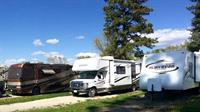 Accommodates variety of RV units.
