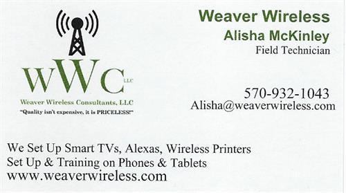 Alisha McKinley -Field Technician