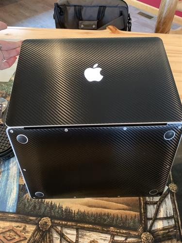 We Vinyl Wrap Your Laptop to Protect & Personalize It!