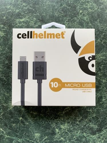 We Are The Local Authorized Distributor of Cellhelmet Accessory Line-10Ft. Charging Cables for All Models with Lifetime Warranty