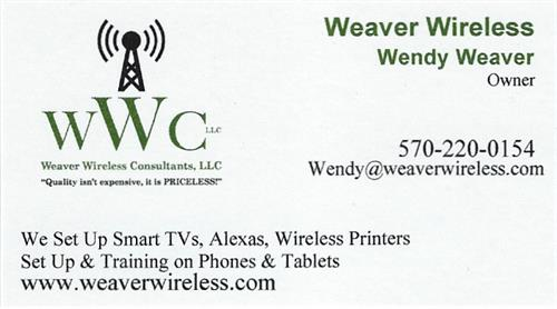 Wendy Weaver -Owner/President