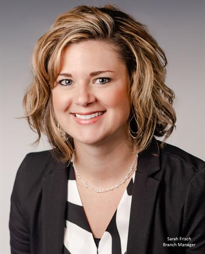 Sarah Frisch, Branch Manager/Personal Banking Officer