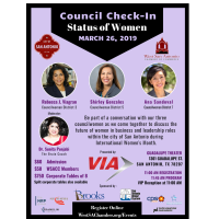 Council Check In - Status of Women