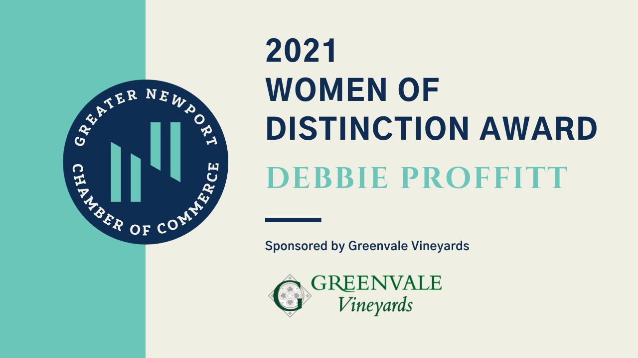 Greater Newport Chamber of Commerce honors 2021 Women of Distinction: Debbie Proffitt