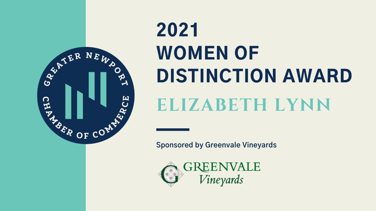 Greater Newport Chamber of Commerce honors 2021 Women of Distinction: Elizabeth Lynn