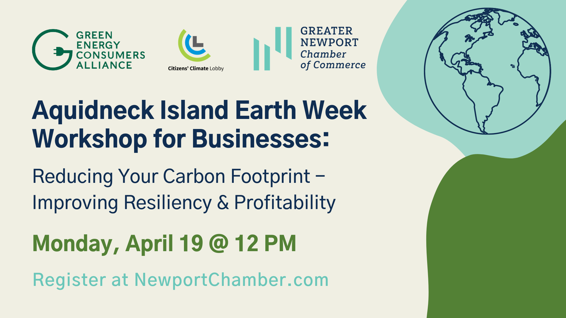 Image for Workshop for Businesses Reducing Your Carbon Footprint - Improving Resiliency & Profitability
