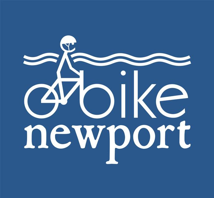 Image for Bicyclists and Other Supporters Gather for Bike Lanes and Shared Lanes in Newport
