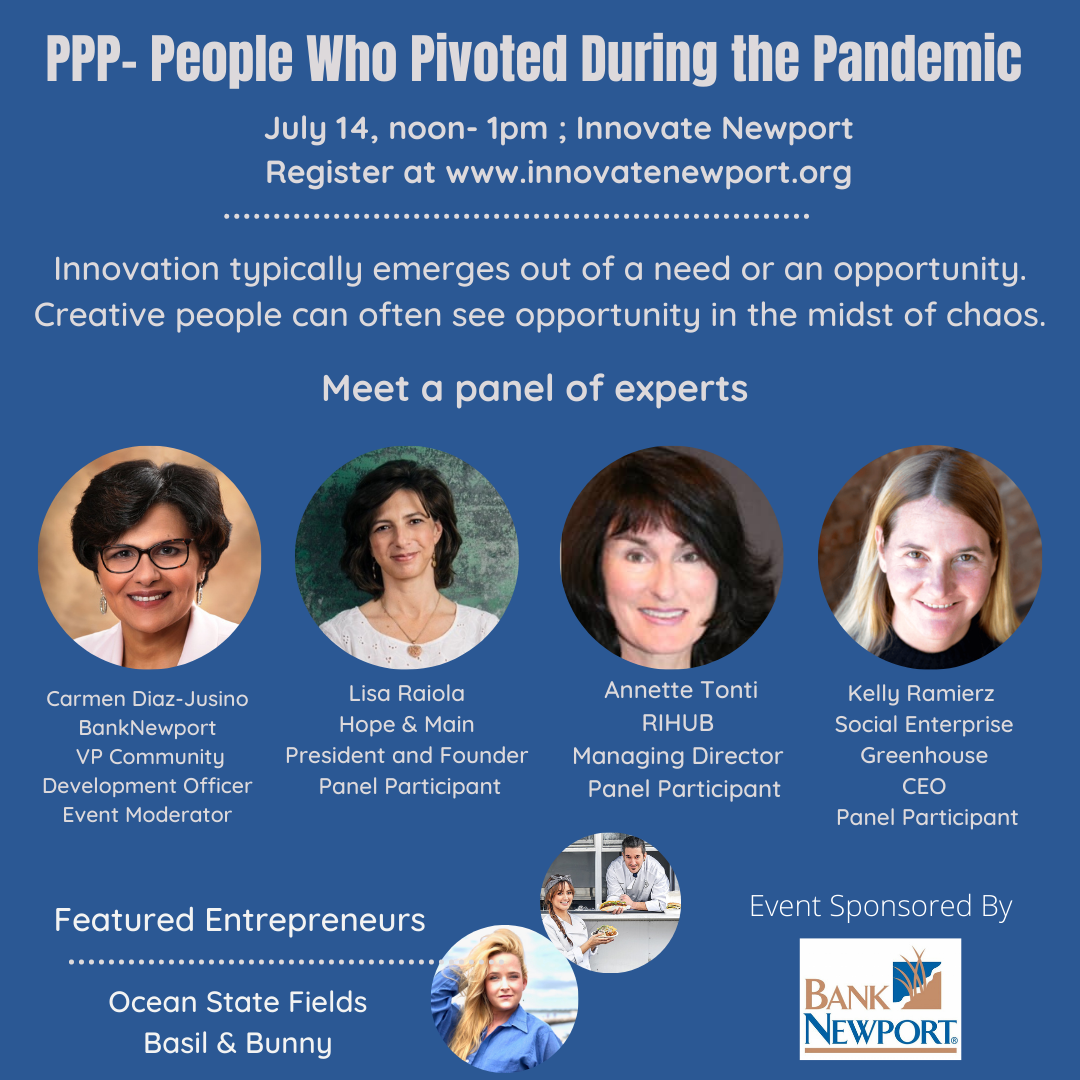 Image for PPP - People Who Pivoted During the Pandemic