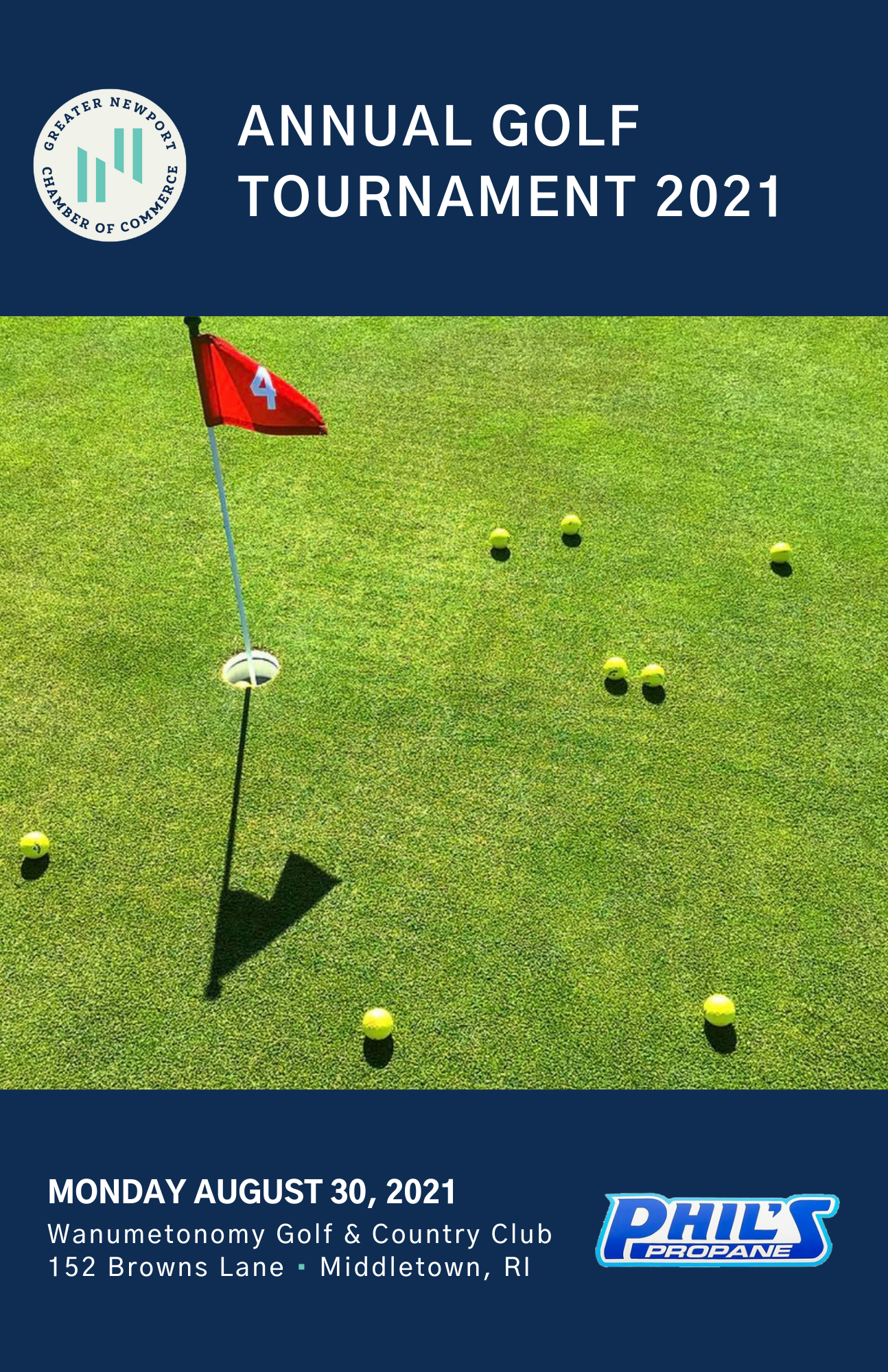 2021 Annual Golf Tournament Program