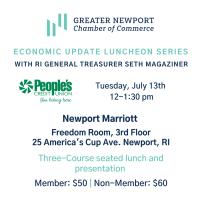 Economic Update Luncheon with RI General Treasurer Seth Magaziner