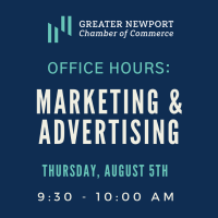 Virtual Office Hours: Marketing & Advertising opportunities for Chamber Members