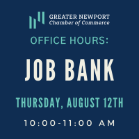 Virtual Office Hours: Chamber Job Bank & Career Specialist