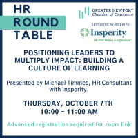 HR Roundtable with Insperity: Building a Culture of Learning
