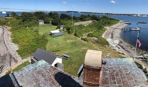 from the lighthouse tower