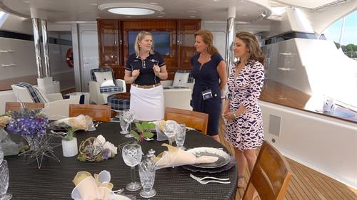 Cheryl DiGennaro newport charter yacht show