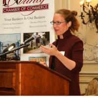 R.I. Director of Food Strategy tells crowd to ask for what they want at Newport Chamber event