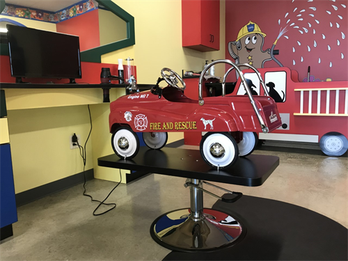 Fire Truck Chair