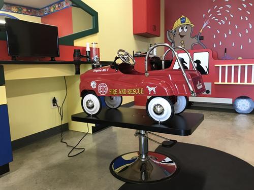 Fire Truck Chair