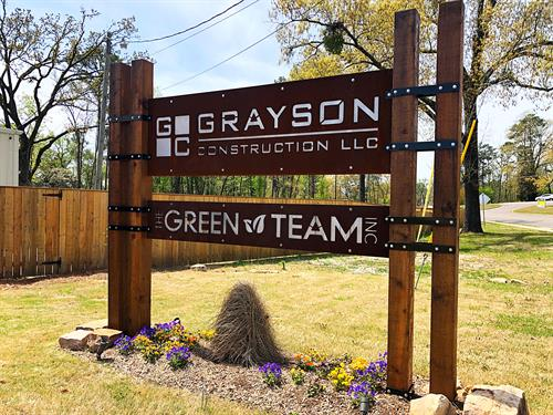 Grayson Construction LLC - Front of the office