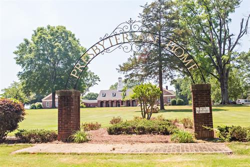 The Presbyterian Home's main campus in Talladega, Alabama