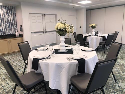 Banquet Setting in Meeting Room